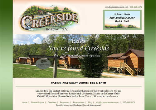Creekside Cabins